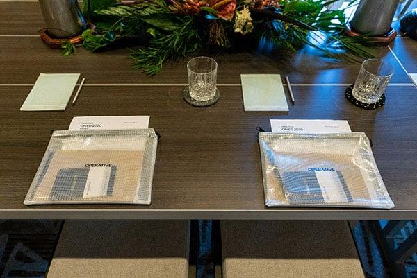 fancy dinner table setting